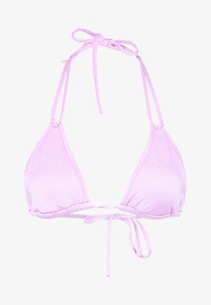 SHINE ON SLIDE TRI - Top de bikini - lilac