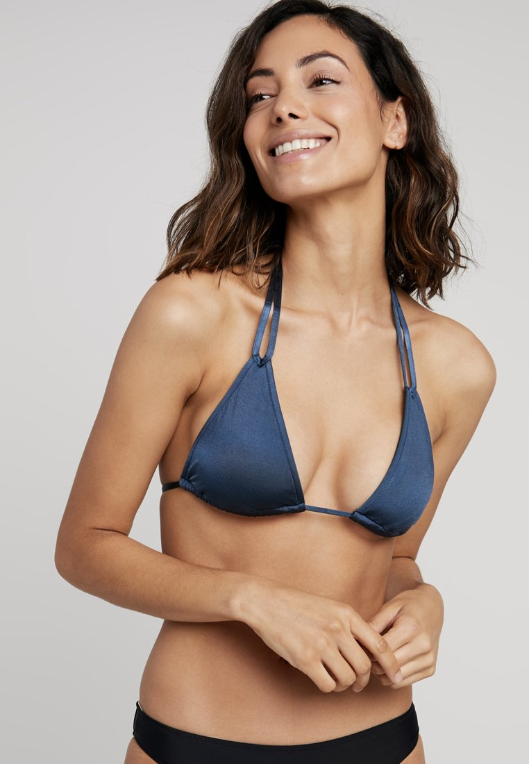 Seafolly - SHINE ON SLIDE TRI - Bikinitop - blue