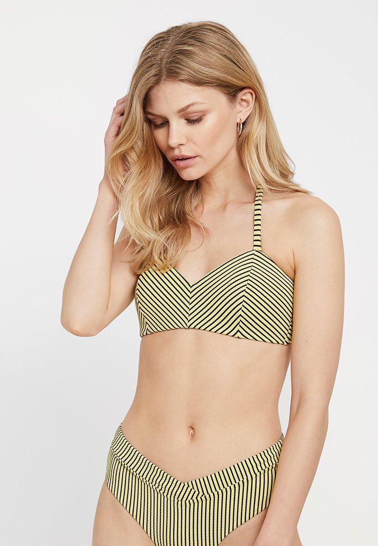 Seafolly - BANDEAU BRA - Top de bikini - lime light