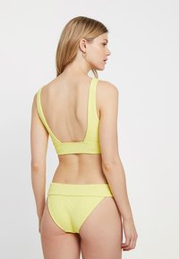 Seafolly - V NECK CROP - Top de bikini - lime light
