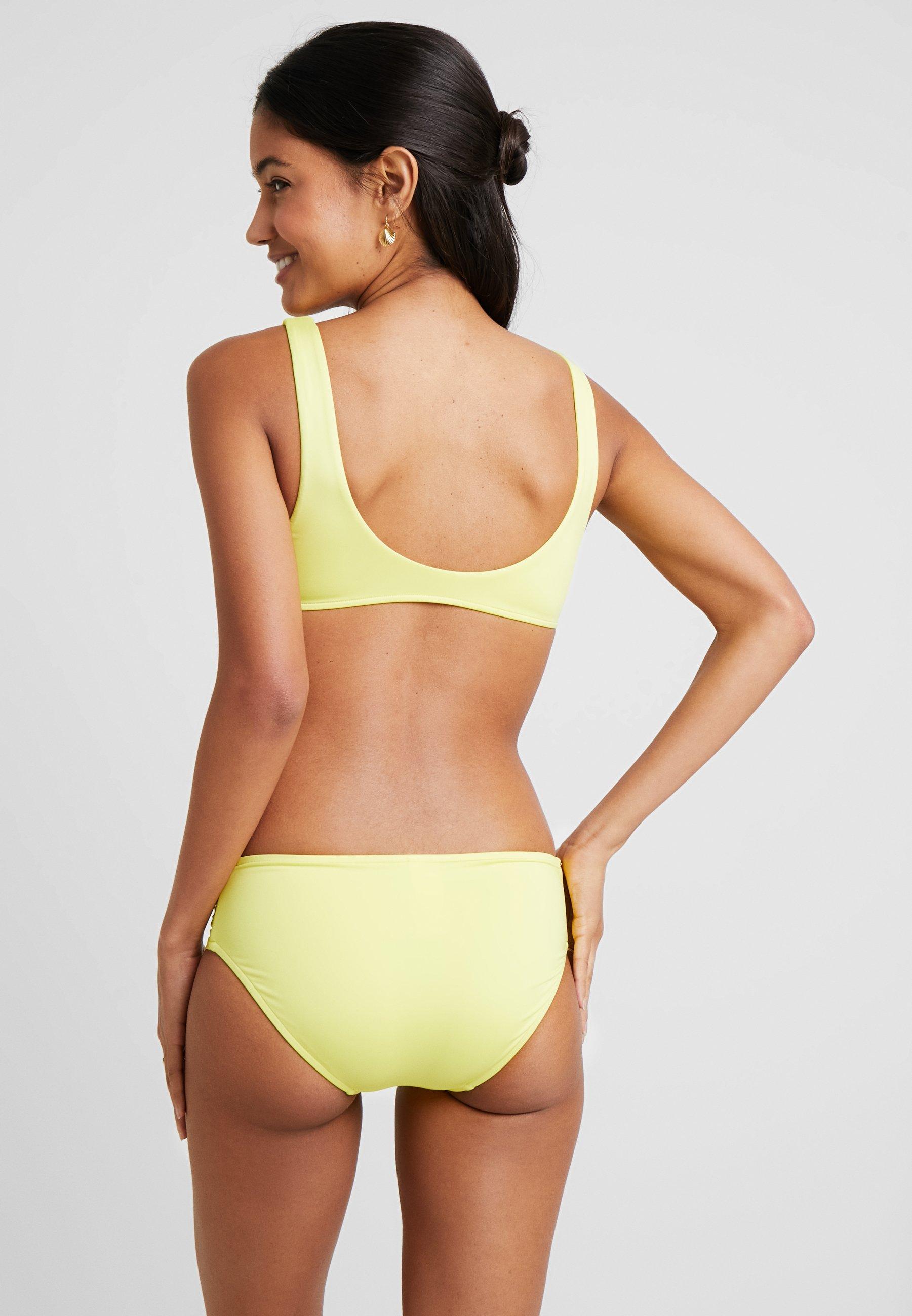 De Bikini Lime Front CropHaut Light Seafolly Ring drBCxoe