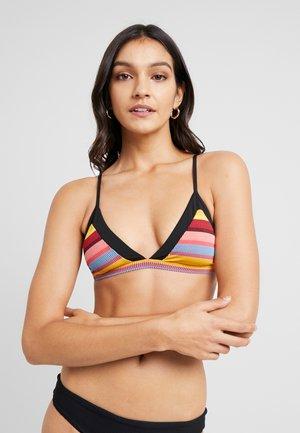 BAJA STRIPE FIXED BRA - Top de bikini - saffron