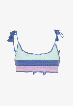 SUMMER CHINTZ CROCHET BRALETTE - Top de bikini - fresh mint