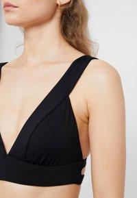 Seafolly - ACTIVEBANDED TRI - Bikini top - black - 4
