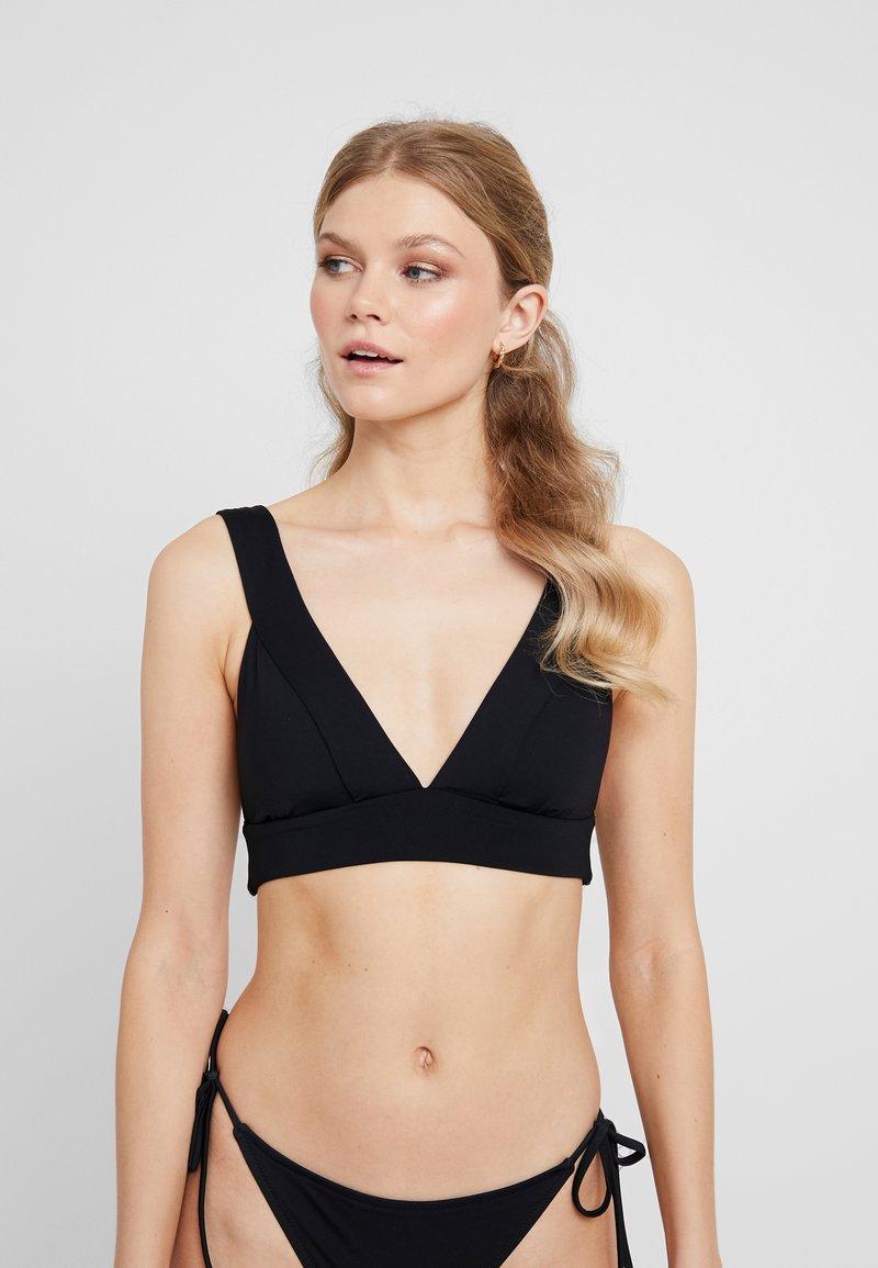 Seafolly - ACTIVEBANDED TRI - Bikini top - black