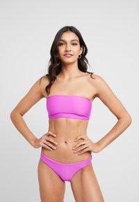 Seafolly - ESSENTIALS TUBE TOP HIGH CUT PANT SET - Bikini - purple haze - 0