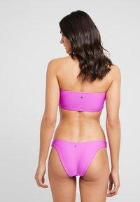 Seafolly - ESSENTIALS TUBE TOP HIGH CUT PANT SET - Bikini - purple haze - 2