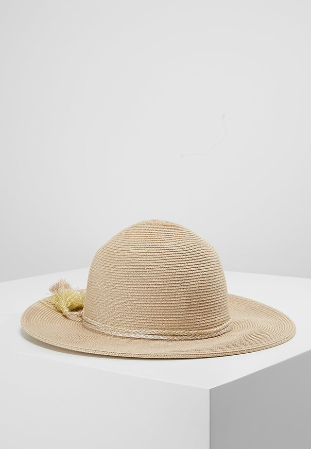 SHADY LADY COLLAPSIBLE FEDORA - Hattu - gold
