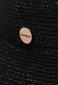 Seafolly - SHADY LADY NEWPORT FEDORA - Sombrero - black - 5