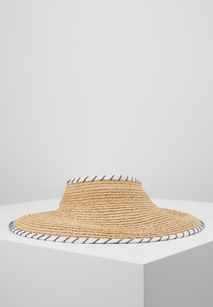 SHADY LADY ROLL UP VISOR - Hatte - natural