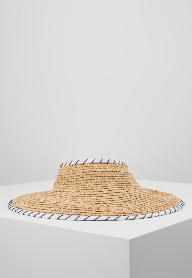 Seafolly - SHADY LADY ROLL UP VISOR - Hat - natural