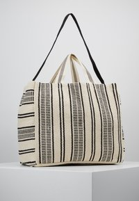 Seafolly - CARRIED AWAY ESSENTIAL STRIPE BEACH TOTE - Accessorio - white/black - 2