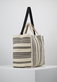 Seafolly - CARRIED AWAY ESSENTIAL STRIPE BEACH TOTE - Jiné - white/black - 3