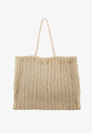 CARRIED AWAY CROCHET BAG - Tote bag - natural