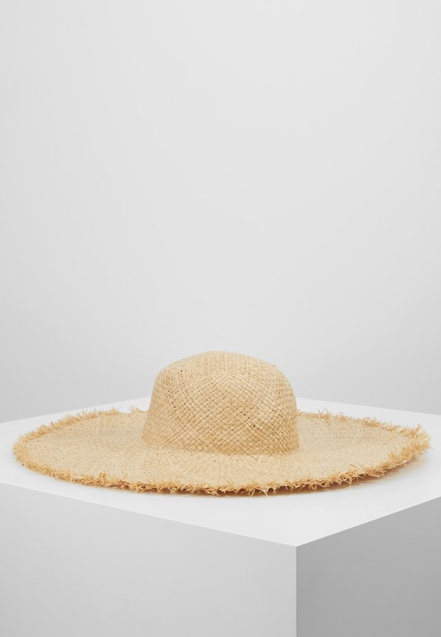 SHADY LADY OVERSIZED HAT - Strandaccessoar  - natural