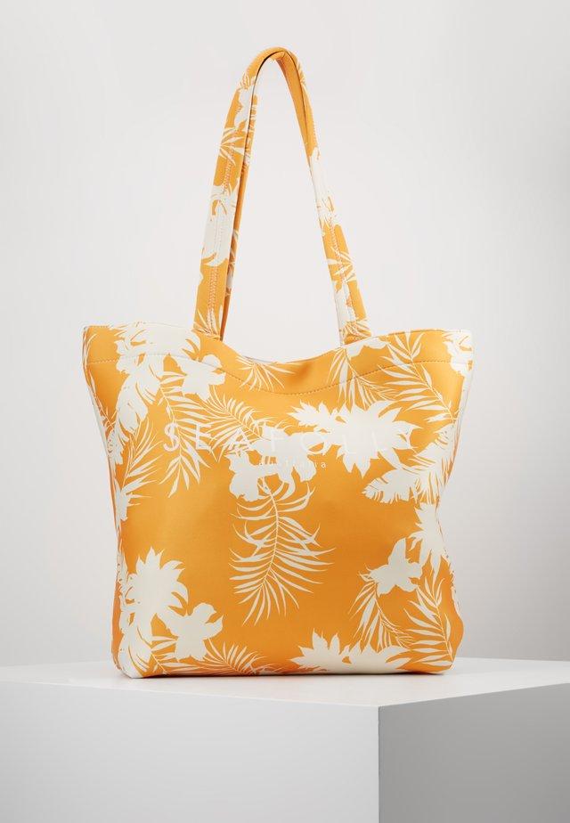 WILD TROPICS BAG - Shopping bag - saffron
