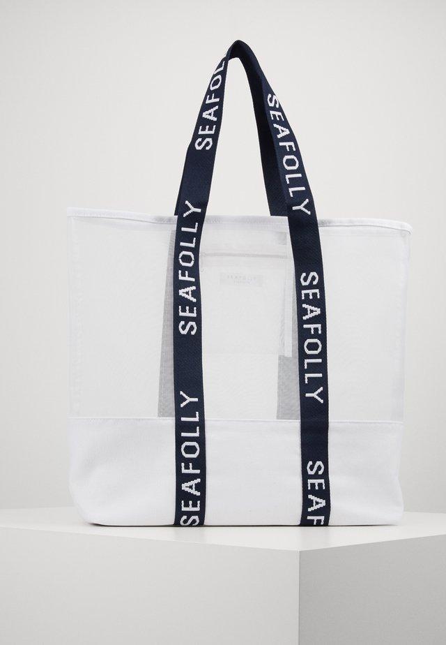 TOTE - Beach accessory - white