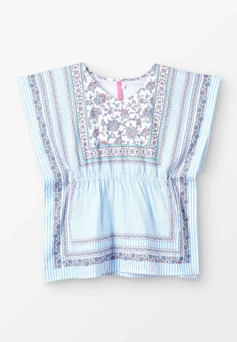 Seafolly - POP PALACE KAFTAN - T-shirt imprimé - white