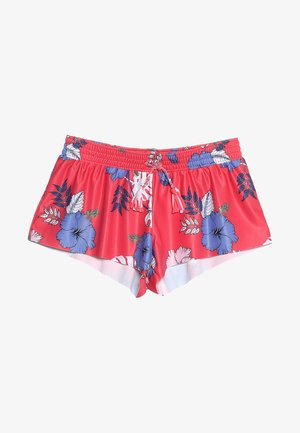 TROPICAL VIBES BOARDIE - Swimming shorts - hibiscus red