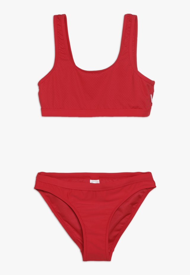 80'S TANKINI SET - Bikini - ruby red