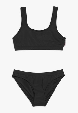 80'S TANKINI SET - Bikiny - black