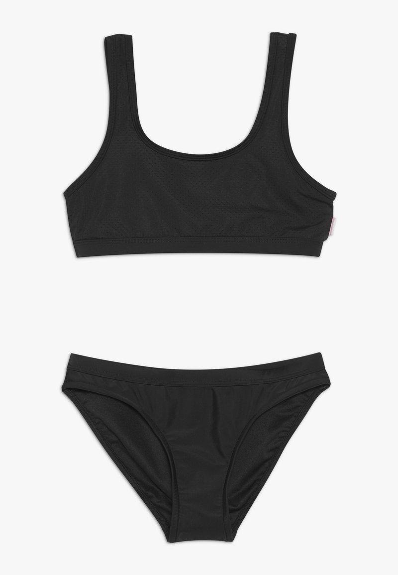 Seafolly - 80'S TANKINI SET - Bikini - black