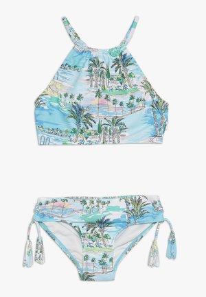 HALTER NECK SET - Bikini - light blue