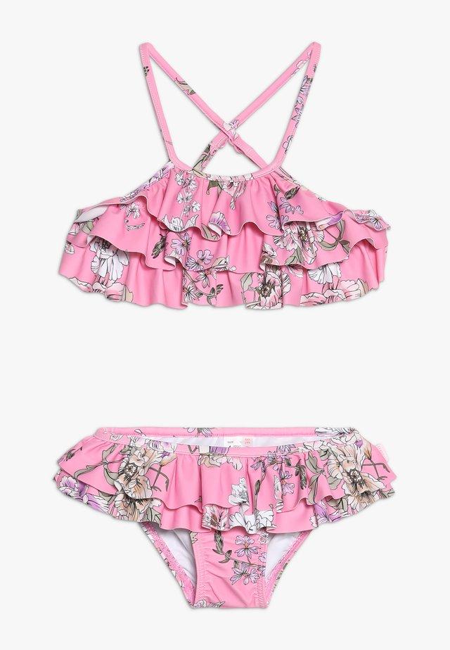 FRILL TANKINI - Bikini - light pink
