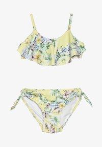 Seafolly - RUFFLE TANKINI - Bikini - yellow - 2
