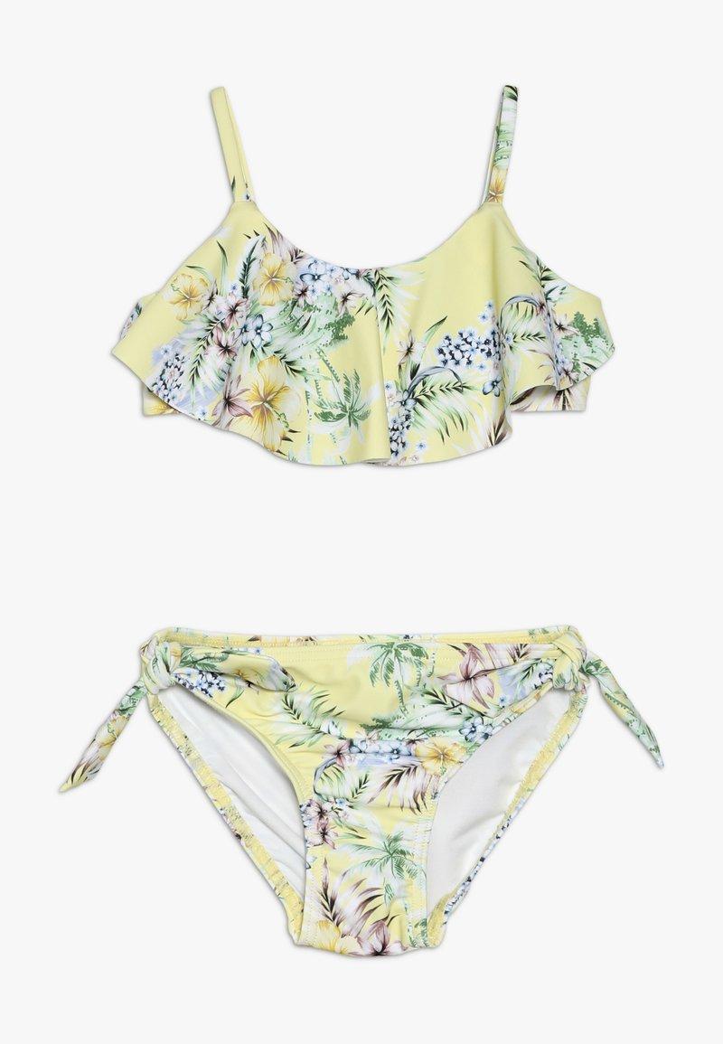 Seafolly - RUFFLE TANKINI - Bikini - yellow