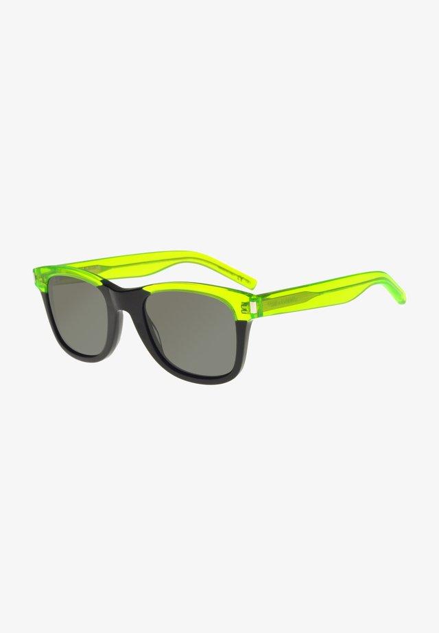 Sunglasses - black green/grey