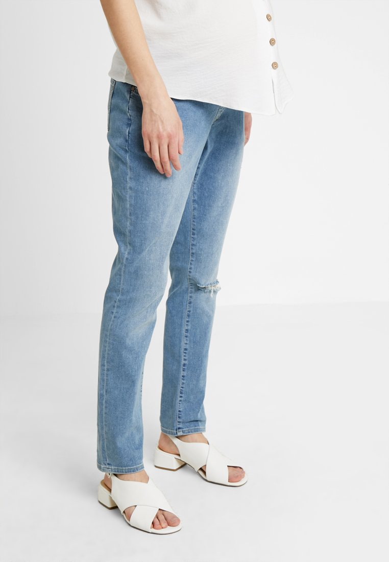 Seraphine - XAVIER - Slim fit jeans - blue wash