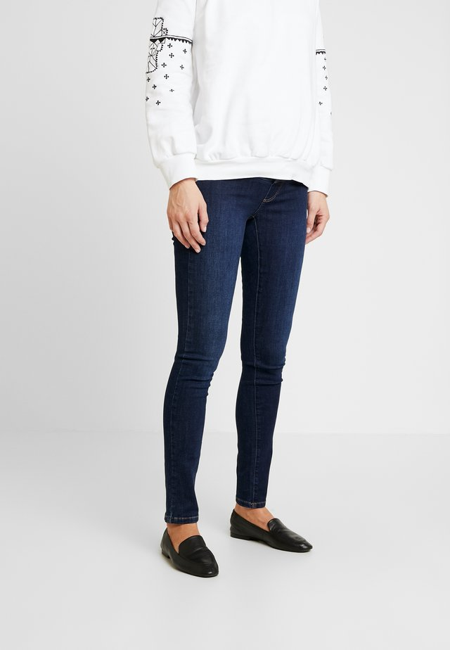 ORGANIC MARCUS - Jeansy Skinny Fit - darkblue