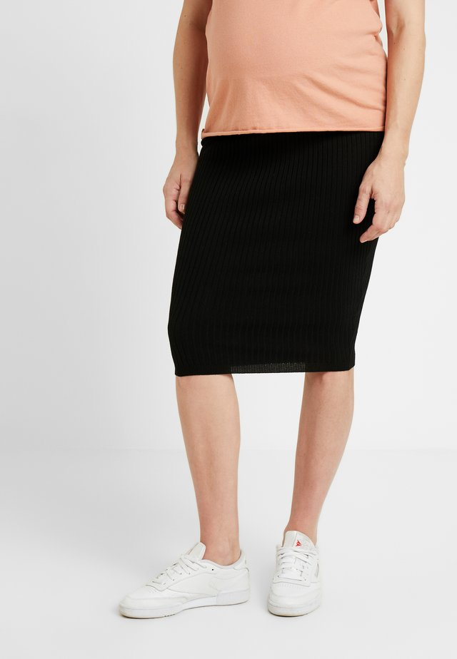 JEN SKIRT - Pencil skirt - black