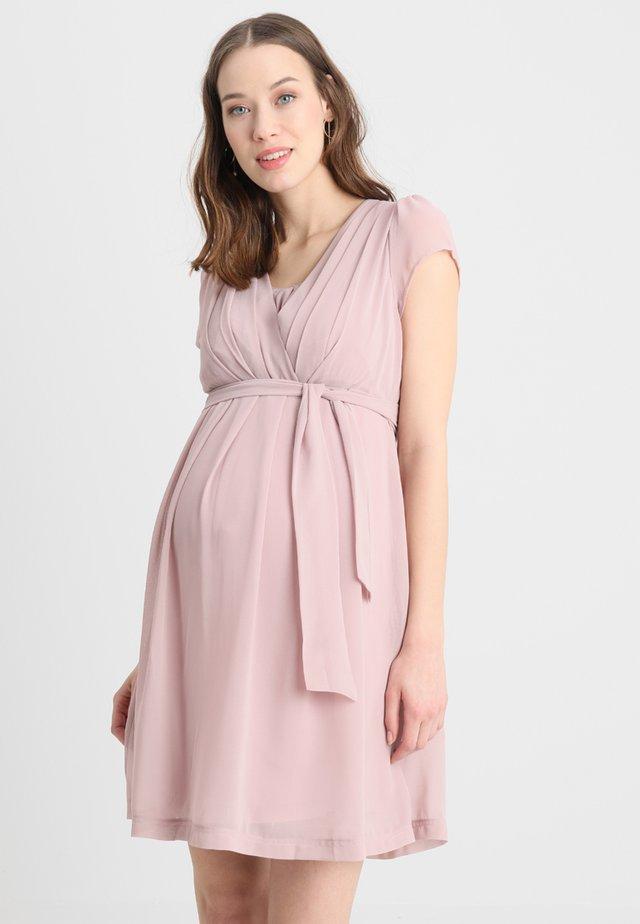 JODIE - Korte jurk - blush
