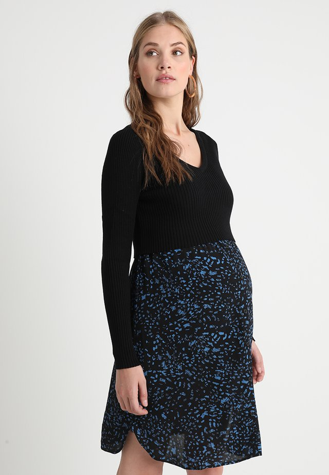 ALICIA - Vestido informal - black/blue