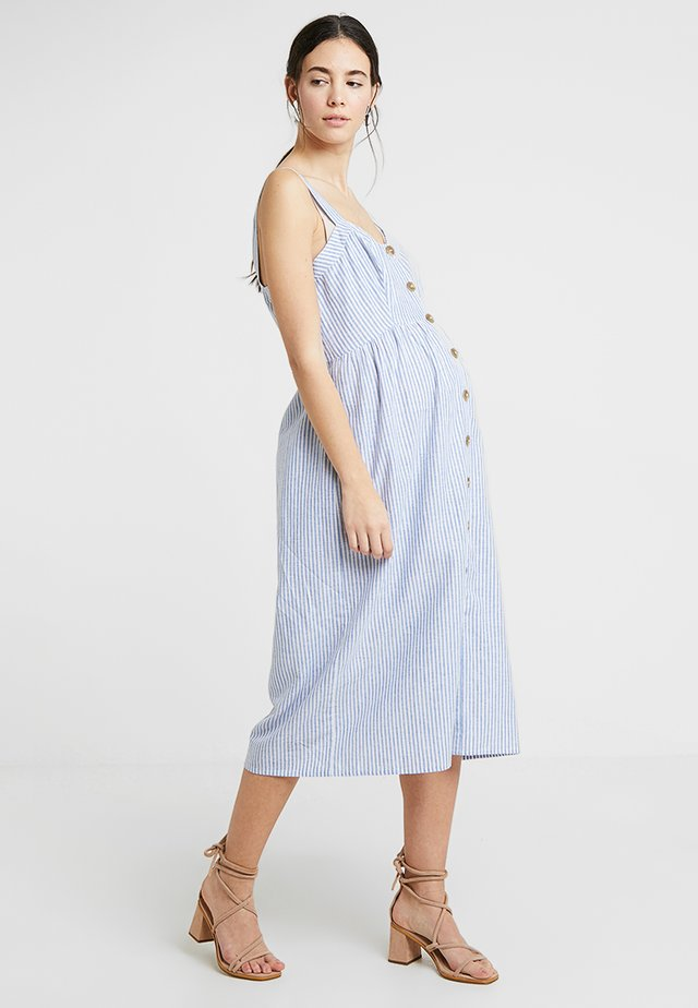 ADALIA - Shirt dress - blue stripe