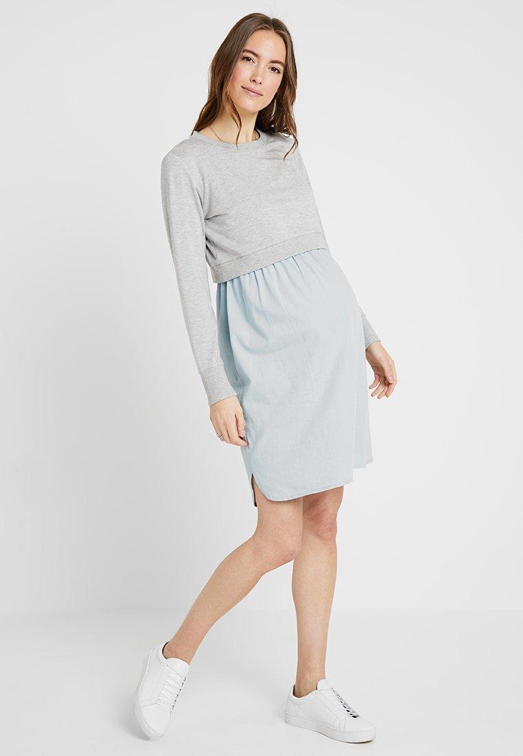 Seraphine - CEDAR - Korte jurk - greymarl