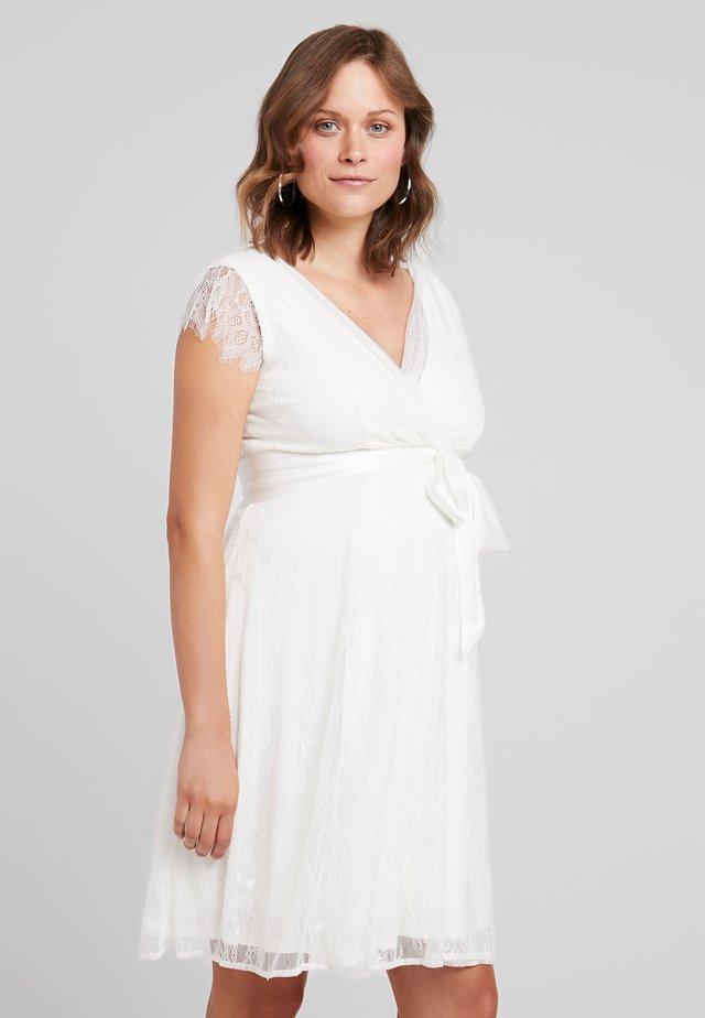 VIVIENNE - Sukienka koktajlowa - ivory