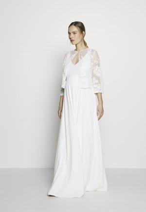 ALBANE BODICE MATERNITY GOWN SET - Festklänning - ivory