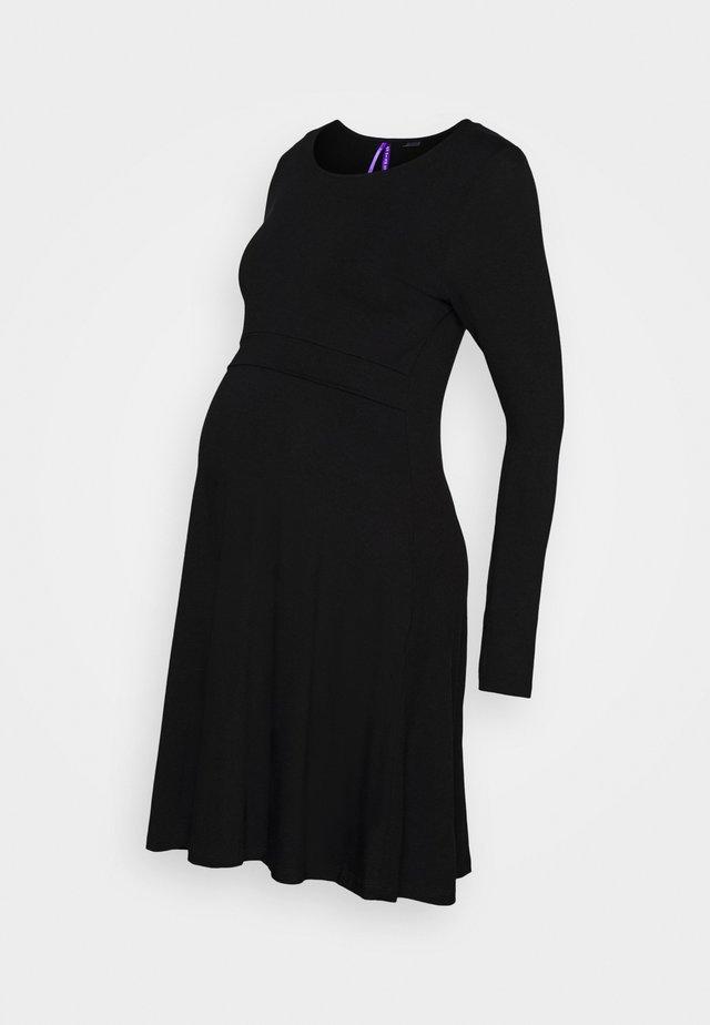 ZELDA - Jersey dress - black