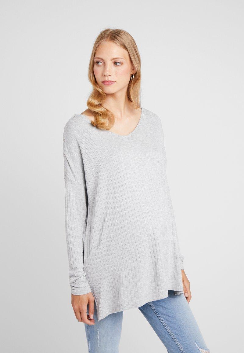Seraphine - QUEENIE - Langærmede T-shirts - grey