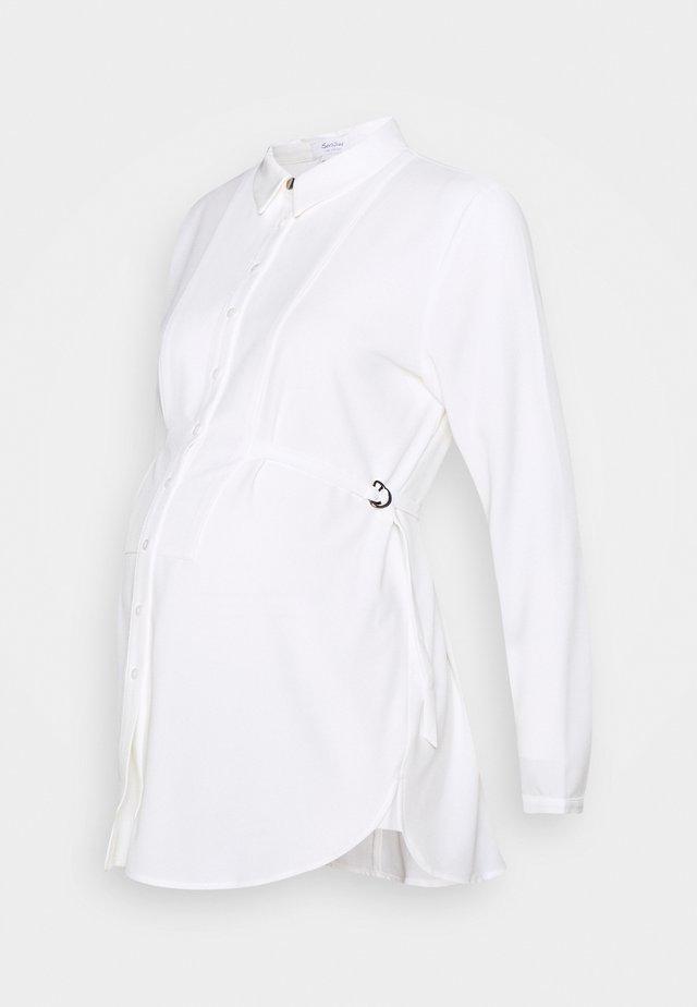 STEPHANIE - Button-down blouse - cream