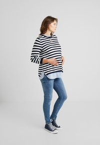 Seraphine - JANICE 2-IN-1 - Strickpullover - nautical blue - 1