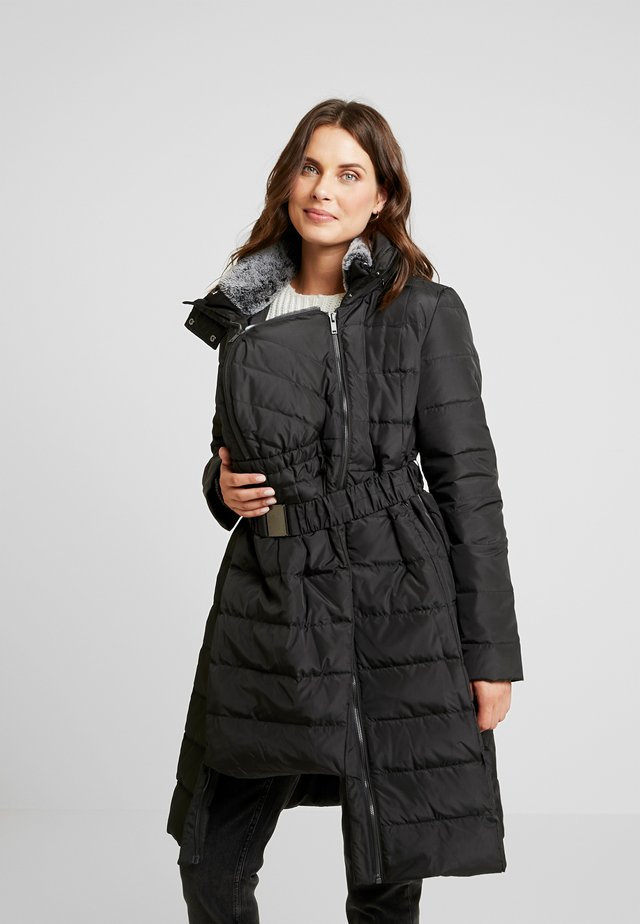 3IN1 ANNA - Kabát zprachového peří - black