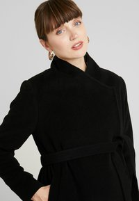 Seraphine - DONATELLA BLEND WRAP COAT - Short coat - black - 3
