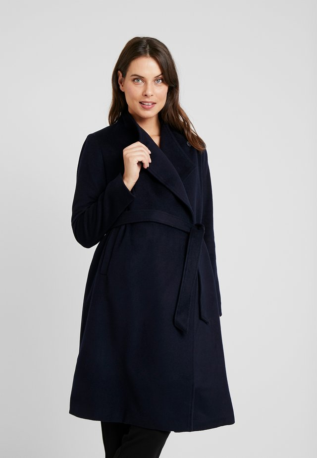 BEVERLY WRAP COAT - Classic coat - navy