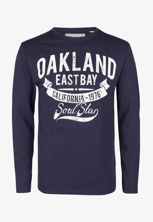 SOULSTAR - Langærmede T-shirts - navy