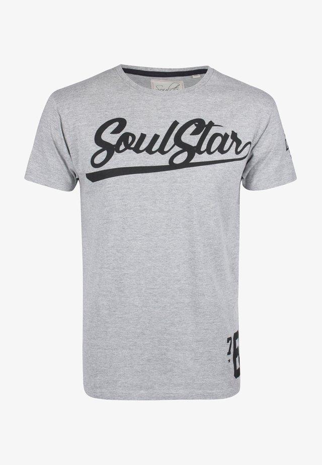 T-shirts basic - grey melange