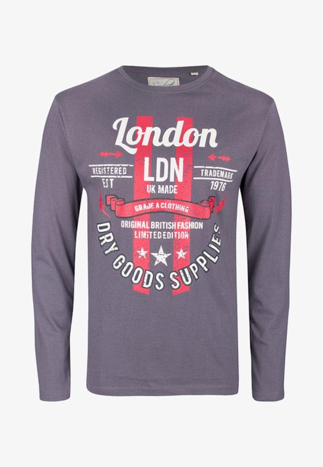 LONGSLEEVE - Langærmede T-shirts - dark grey